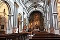 Málaga, the San Juan Church, inner view.JPG
