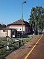 Ménfőcsanak felső train station, 2020 Győr.jpg