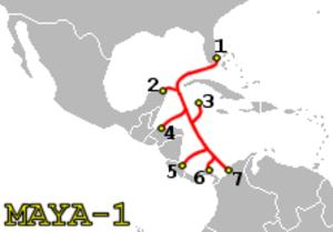 MAYA-1 - Image: MAYA 1 route