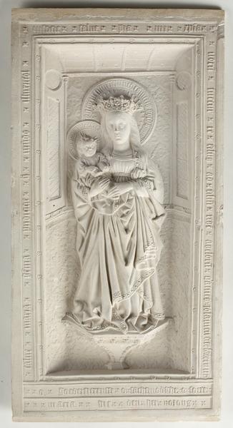 MCC-42540 Reliëf met Maria met kind (1)
