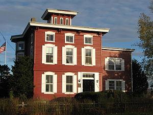 Manlius Pebble Hill School - Image: MPH Farmhouse 2014