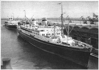 MS Batory - Image: MS Batory 1937