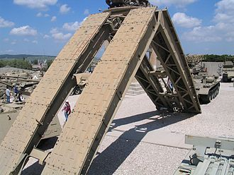 MT-55 - MT-55KS bridgelayer in Yad La-Shiryon Museum, Israel.