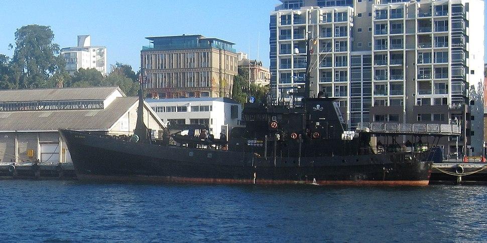 MV Bob Barker in port 2010-03-06