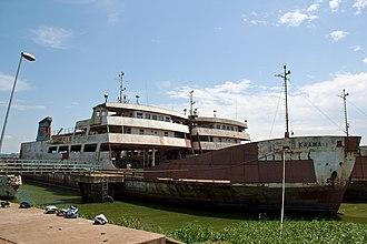 Lake Victoria ferries - MV Kaawa