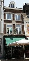 foto van Huis met lijstgevel. Geboortehuis van Alfons Olterdissen (1865-1925).