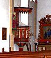 Madfeld, St. Margaretha, Kanzel.JPG