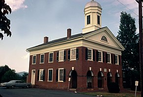 Madison County Courthouse (Built 1829), Madison, Virginia.jpg
