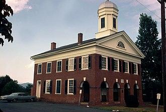 Madison County, Virginia - Image: Madison County Courthouse (Built 1829), Madison, Virginia