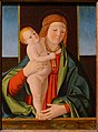 Madonna and Child, by Filippo Mazzola, c. 1490, oil on panel - John and Mable Ringling Museum of Art - Sarasota, FL - DSC00574.jpg
