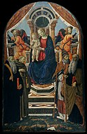 Madonna and Child Enthroned with Saints and Angels MET DT7233.jpg
