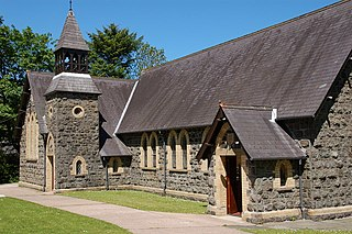 Magheramorne village in the United Kingdom