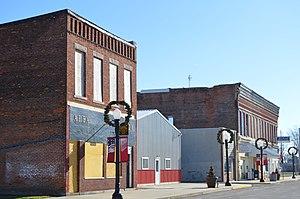 Ohio City, Ohio - Main Street downtown