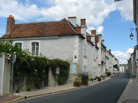 The house where Descartes was born in La Haye en Touraine Maison de Rene DESCARTES - Jean-Charles GUILLO.JPG