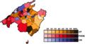 MajorcaMunicipalMapP1987(VoteShare).png