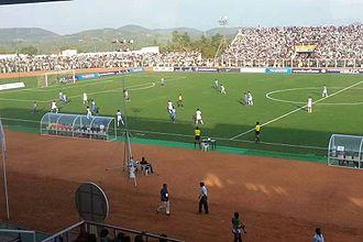 Sports in Kerala - Football (soccer) at the Malappuram District Sports Complex Stadium