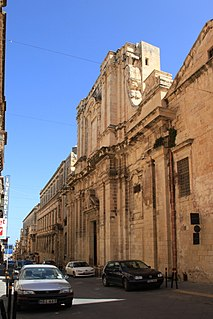 Church of the Jesuits, Valletta Church in Valletta, Malta
