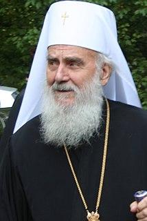 Irinej, Serbian Patriarch Serbian patriarch