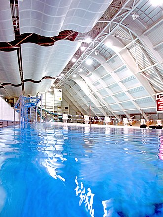 2002 Commonwealth Games - Image: Manchester Aquatics Centre Indoor
