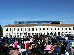 Le Zénith - Rear entrance of venue