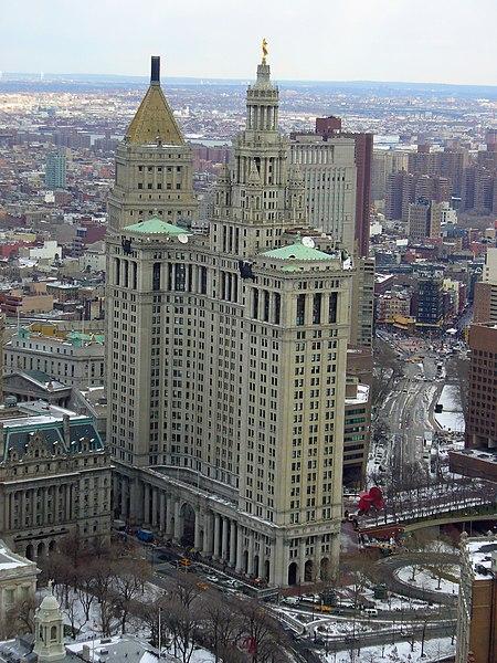 Manhattan Municipal Building: Battle Of The Mega-city Skyline...New York City Vs Chicago