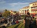 Manifestación cultural en el frontis del Liceo de Niñas de La Serena Diciembre 2019.jpg