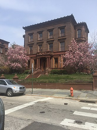 Fairmount, Philadelphia - Bergdoll Mansion on 22nd and Green Streets