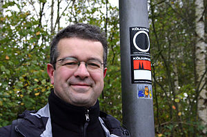 Manuel Andrack - Manuel Andrack hiking