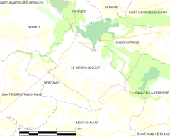 Map commune FR insee code 14413.png