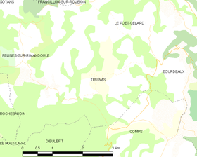 Map commune FR insee code 26356.png