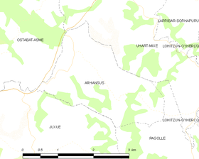 Map commune FR insee code 64045.png