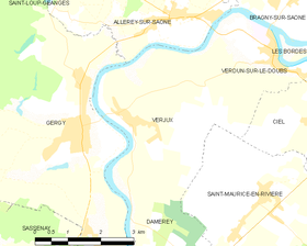 Map commune FR insee code 71570.png