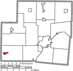Location of Russia in Shelby County