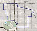 Map of Van Nuys, Los Angeles, California.jpg
