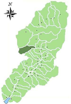 Paisco Loveno - Location of Paisco Loveno in Val Camonica