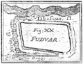 Map of earthen fortification Cnesa drawn by Marsigli.png