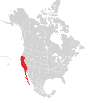 The Californias Region of North America