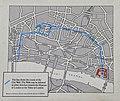Map of the London Wall Walk, Londinium Roman Wall (38568515570).jpg
