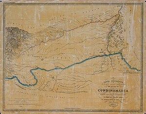 Cundinamarca State - San Martín Territory