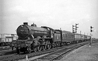 LNER Class B17 - B17/6 No. 61642 Kilverstone Hall.