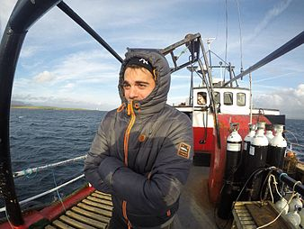 Marco, Scapa Flow Marine Research Project.jpg
