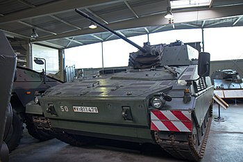 Prototyp Marder 2 IFV VT 001 from Krauss-Maffe...