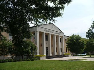 Linden, Alabama - Marengo County Courthouse in Linden
