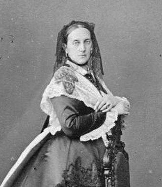 Grand Duchess Maria Nikolaevna of Russia (1819–1876) - Photograph by Sergei Lvovich Levitsky