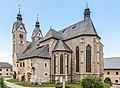 Maria Saal Pfarr-und Wallfahrtskirche Mariae Himmelfahrt SW-Ansicht 24062017 9801.jpg