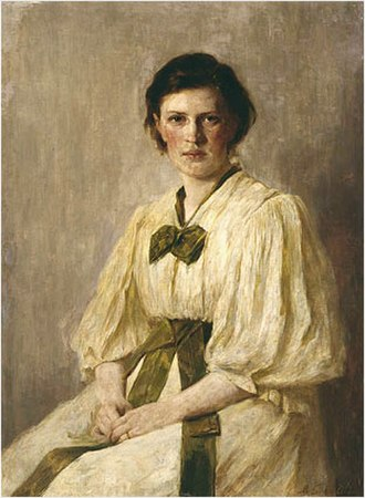Marianne Weber - Painting of Marianne Weber.