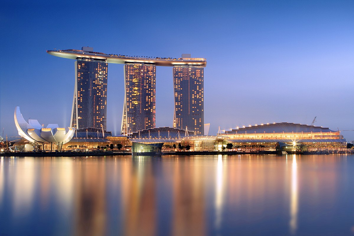 Image result for Marina Bay Sands, Marina Bay, Singapore