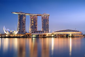 Casino - The Marina Bay Sands