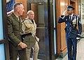 Marine Gen. Joseph F. Dunford walks with Air Chief Marshal Sir Stuart Peach, 2016.jpg