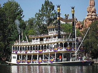 Disney riverboats
